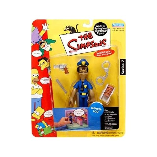 The Simpsons Series 7: Officer Lou Action Figure