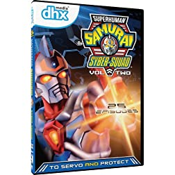 Superhuman Samurai Syber Squad - Volume 2 - 25 Episodes