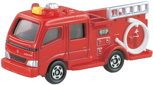 Takara Tomy Tomica #041 Morita Fire Engine Type CD-I - 1