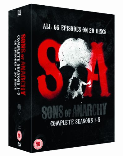 Sons of Anarchy - Season 1-5 [DVD]