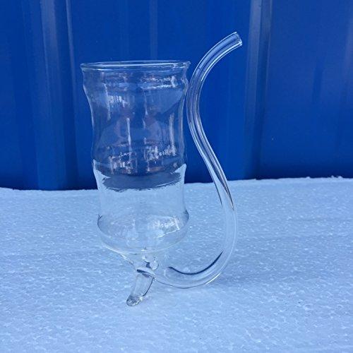 Unbekannt Bambus Joint Form Vampir Weinglas Saugen Cup Trinkhalm Becher