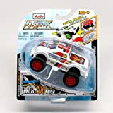 PT-250 (White) * Hyper-Maxx High-Torque Pull-Back Motorized Vehicle * 2013 Maisto Hyper Fast Lightwe