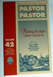 img - for Making the Right Career Decisions (Pastor to Pastor, 42) book / textbook / text book