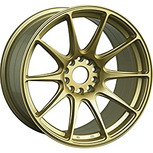 XXR 527 18 Gold Wheel / Rim 5x100 & 5x4.5 with a 20mm Offset and a 73.1 Hub Bore. Partnumber 52789547