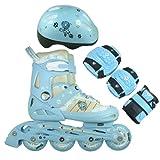 FA Sports Kinder Inline-Skates Set Gears