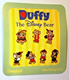 Disney Parks Duffy Dear Epcot WDW World Traveler Mini Pin Booster Trading Set