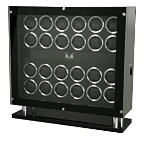Volta 31-560240 Signature Series Twenty-Four (24) Carbon Fiber Watch Winder