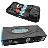2015 Model QD6 (Supporting up to 5L Petrol and 3L Diesel Vehicle) HyperPS 20000mah Multi-function Car Jump Starter Portable Mobile Laptop Power Bank Battery Charger Emergency Kit with LED Flashlight