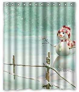 outlet seller custom lonely snowman shower