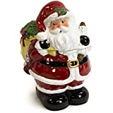 Golly Gee Figural Ceramic Santa Cookie Jar