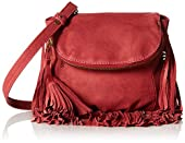Cynthia Vincent Autum Fringe Cross-Body Bag