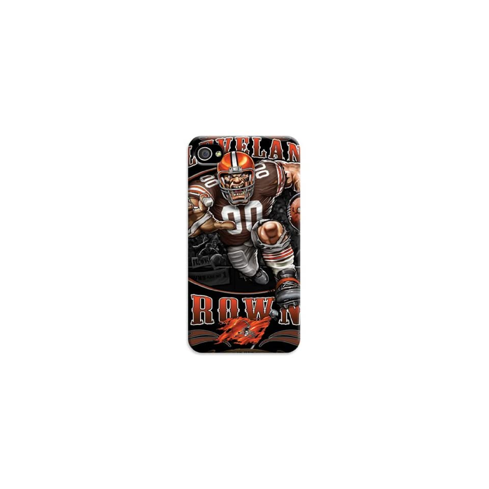 3d Print Cleveland Browns NFL Iphone 4/4s Cases Classic Sport Design (Cleveland Browns50) Cell Phones & Accessories