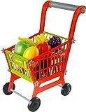 Brigamo 549 - Spielzeug Einkaufswagen inkl. 21 teiligem Warensortiment thumbnail