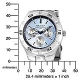 Nautica Men's N10075 Metal Round Multifunction Watch
