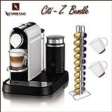 Nespresso C120 Citiz Single Serve Espresso Machine Frost Aluminum With Frot ....