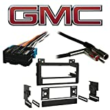 Fits GMC S-15/Sonoma 1994-1997 SDIN Aftermarket Harness Radio Install Dash Kit