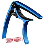 Guitar Capo Acoustic And Electric - Endorsed by Touring Professionals and LA's Top Session Musicians