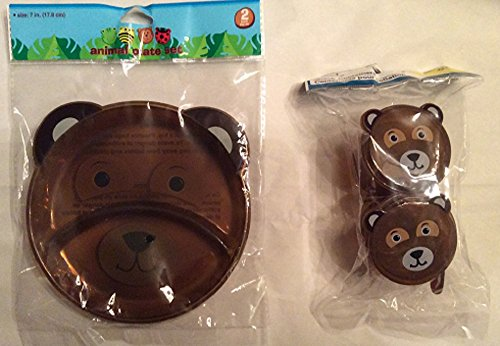 Toddler Animal Mealtime Set