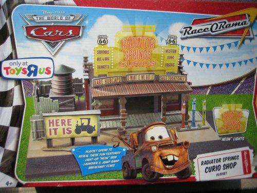 Disney Pixar Cars Movie Toy Playset Radiator Springs Curio