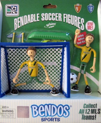 Buy Low Price Bendos Los Angeles Galaxy Bendable Soccer Figures (B001GMX9OA)