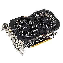 Gigabyte Radeon R7 370 2GB Graphic Card OC Edition (GV-R373WF2OC-2GD)/ WindForce / GDDR5 / PCIE-E 3.0 / 256Bit / HDMI / Dual-Link DVI-I/DVI-D / Display Port / Dual Fan / With Back Plate