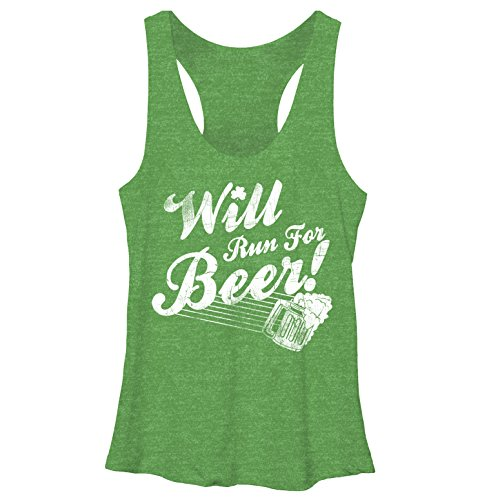 Will run for beer funny tank