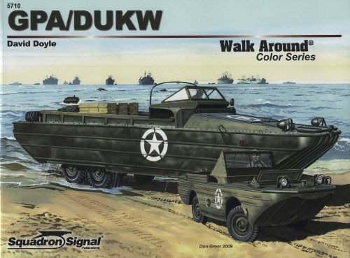GPA / DUKW - Armor Walk Around Color Series No. 10