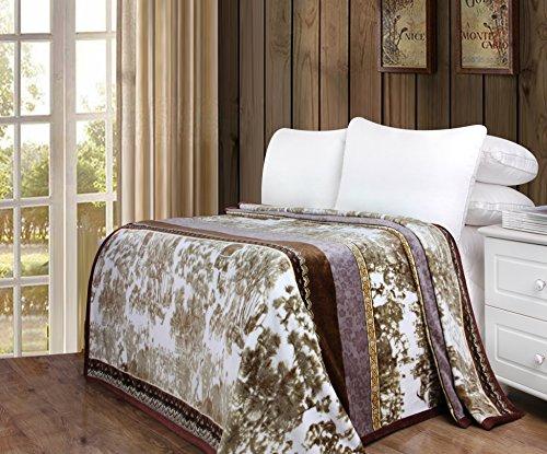 DaDa Bedding Soft Warm Whispering Twilight Fleece Flannel
