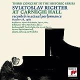 幻のカーネギー・ホール・ライヴ1960第4夜 ベートーヴェン:ソナタ第7番&ラフマニノフ:前奏曲集
