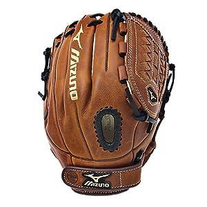 Mizuno GMVP1175F1 MVP Fast Pitch Softball Fielder's Mitt (Copper, 11.75-Inch, Right Handed Throw)