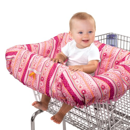 Great Features Of Bright Starts Cozy Cart Cover, Pink