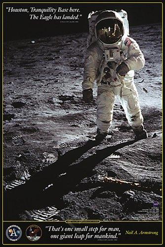 ポスター ニール・アームストロング <br />Walk on the Moon