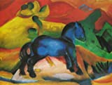 Artifact Puzzles - Franz Marc 1912 Blue Horse Puzzle