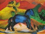 Artifact Puzzles - Franz Marc 1912 Blue Horse Puzzle