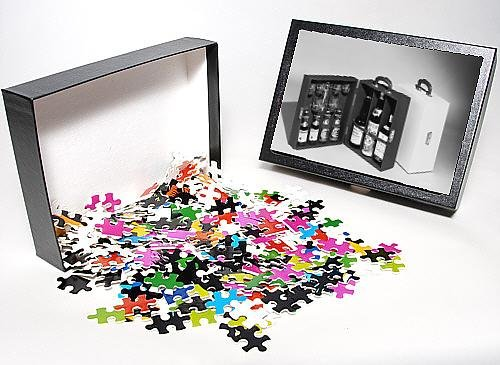 Photo Jigsaw Puzzle Of Portable Drinks Cabinet front-594882