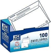 Comprar Oxford 100101566 - Sobres con dispensador (100 unidades), color blanco