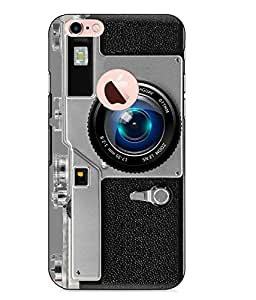 Make My Print Camera Printed Grey Hard Back Cover For Apple Iphone 6