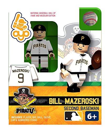 Bill Mazeroski OYO MLB HOF Pittsburg Pirates G2 Series 2 Mini Figure Limited Edition - 1