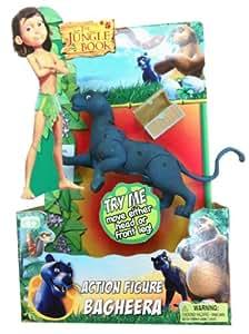"""Jungle Book 6"""" Articulated Jungle Book Figure - Bagheera: Toys & Games"""