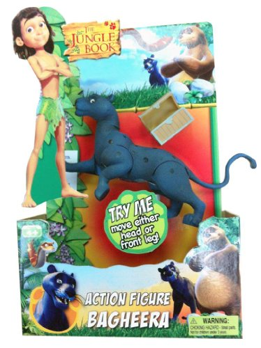 "Jungle Book 6"" Articulated Jungle Book Figure - Bagheera"