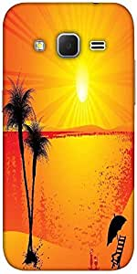 Snoogg Summer Background Solid Snap On - Back Cover All Around Protection For...