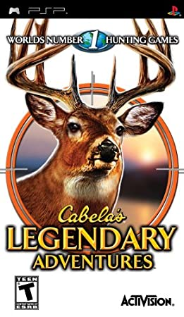Cabela's Legendary Adventures - Sony PSP