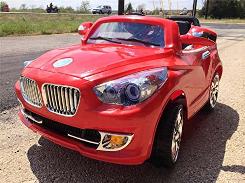Ride On Car Bmw Style Power Super Wheels Mp3 Parental