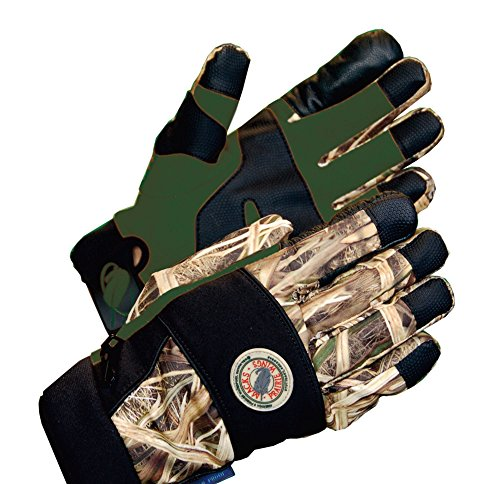 MPW Cutt Bluff Waterproof Insulated Hunting Gloves (Mossy Oak Shadow Grass Blades) (Men's Large) (Blade Gloves compare prices)