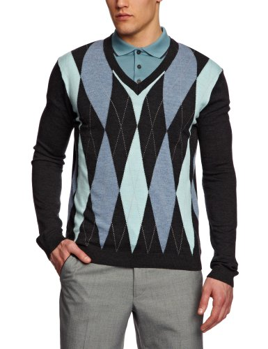 Pringle MT438 Men's Jumper Charcoal X-Large