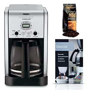 Cuisinart Coffee Maker Dripping : Amazon.com: Cuisinart DCC-2650 Brew Central 12-cup Programmable Coffeemaker Bundle: Drip ...
