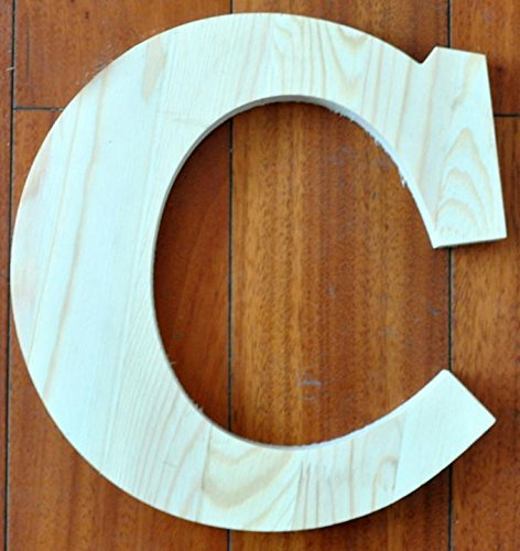 Wooden Letter Photography Props Wedding Decoration / Present/Gift,C,11.8-Inch