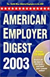 img - for American Employer Digest: The 10,000 Most-Admired Employers in the USA book / textbook / text book