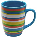Two and a Half Men Striped Mug