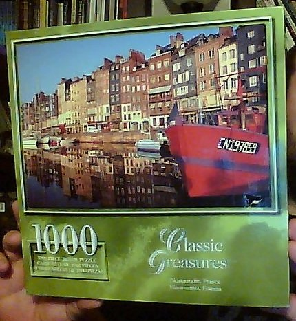 Classic Treasures 1000-Piece Large Jigsaw Puzzle - Normandie, France